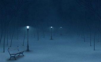 kerst feest van de machteloze eenzaamheid
